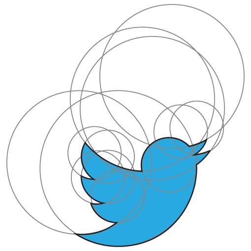 logo twitter origine